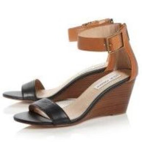 2e6f6387cb4 Steve Madden Nanncy Ankle Strap Low Wedge Sandals